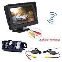 자동차 후면보기 카메라 주차 센서 anshilong 무선 카메라 모니터 비디오 시스템, DC 12V + 키트