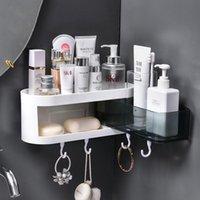 Acessórios de casa de banho Conjuntos de parede escova de escova de escova de toothbrushing copo de armazenamento de armazenamento cilindro de dentes de canto de canto acessório de banho