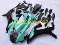 주입 구멍 키트 카우 링 보디 워크 페어링 키트 Yamaha Yzf1000r1 YZF R1 YZFR1 2015-2016-2017-2018-2019 15 16 16 16 16 16 16 17 Light Blue Black