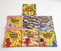 Gummies Bolsas exóticas infundidas 420 710 Embalaje Empaquetado de 500 mg Riéndose de bolsas de plástico Oler Proof DFGG
