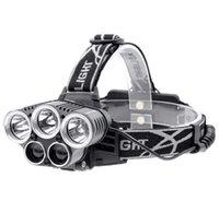 5 CREE LED HEALLAMP 3 XML T6 2xpe Фара 15000 Lumens головной фонарь лампы лампа факел пожарной лампы аварийные огни рыболовные открытый велосипедное охотничье освещение оборудование
