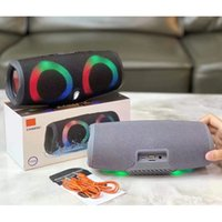 Charge 5 Bluetooth Speaker RGB Portable Mini Wireless Outdoor Waterproof Subwoofer Speakers Support TF USB Card