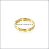 Napkin Aessories Kitchen, Dining Bar & Gardennapkin Rings 6 10Pcs Gold Eco-Friendly Metal Buckles Serviette Holder For Wedding Party Restaur