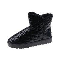 Winter Snow Boots In Stock high Quality Christmas Gift Low Gang Sexy Womens Warm Cotton Padded Waterproof Pashm Shoe Luxury Fashion Lady WARORWAR Brand YN9-02102
