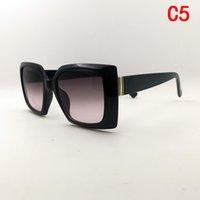 Designer di lusso donna Gafas de Sol moda occhiali da vetri rettangolo quadrato adumbral donne occhiali da sole occhiali da sole firmati di lusso di alta qualità