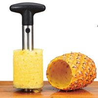 Fruit Tools Stainless Steel Pineapple Peeler Cutter Slicer Corer Peel Core Knife Gadget Kitchen Supplies
