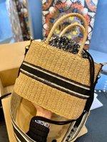 2021 Cibo cestino totes designer borse intrecciato donna moda lusso a spalla a spalla borsa a tracolla di alta qualità marchio casual borse da donna regalo