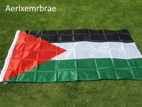 Aerlxemrbrae 90 * 150 cm A bandeira da Palestina Bandeira de poliéster de alta qualidade