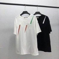 20SS Männer T-shirt Designer Buchstabe Print Crew Hals Casual Summer Atmungsaktive Herren Womens T-Shirts Solide Farbe Tops Tees Großhandel S4nu #