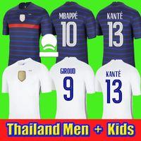New Benzema Soccer Jersey Maillot Foot Maillots De Fútbol Camisa Equipo Equipo Equipo Fekir Pavard Uniforms 2021 Men + Kits Kit Conjuntos Calcetines