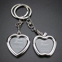 Keychain Schlüssel Geschenkrahmen Kette Kreative und Gute Liebe Foto - Qualität Liebhaber für Mode Männer Frauen Ring Schmuck # 17017 JSGWV