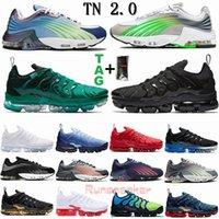 TN Plus Zapatillas de running para hombre Mujer Royal Smokey Malva Cadena Colorways Verde Triple Blanco Entrenador deportivo Zapatillas de deporte