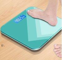 Digital Body Peso Bilancia Bagno Bagno Bilance misura Misura Elettronica Arround Corner Design Elevata precisione Misurazioni Body Composizione NHA6236