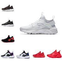 Nike Air Huarache Shoes  New Air Max Huaraches Venta NUEVO HUARACE 1.0 4.0 Hombres Zapatillas para correr Stripe barato Red Balck Blanco Rosa Oro Huaraches Mujeres