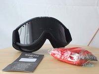 Cariboo Smith OTG 3 Renk Kayak Gözlük Anti-sis Çift Lens Ride Inşaat Snowboard Gözlük