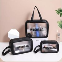 Storage Boxes & Bins Women Portable Travel Wash Bag Female Transparent Waterproof Makeup Pouch Large Capacity Cosmetic Organizer Beauty Case