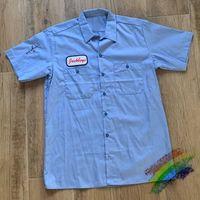 2020FW Travis Scott Jackboys Работа футболки Мужчины Женщины 1: 1 Лучшее качество Уличная одежда Синий Кактус Джек Футболка Tees X0712