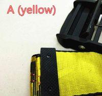 2019 18SS Nuova Brand Brand BelTable Belt Belt da uomo Tempo libero Golden Yellow Belt Bel-Made Canvas Uomo Donna Cinture 6 Stili 200cm