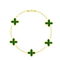 2021 New V Love Braceletes Paris Classic Four-Leaf Trever Bracelete Para Presentes Cinco Flores Braceletes Design De Moda Jóias Mulheres Casamento Festa