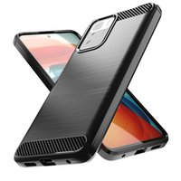 Applicable to Xiaomi poco X3 GT mobile phone case fall protection cover carbon fiber drawing soft case business simplicity Soft