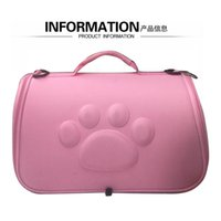 Dog Carrier handbag Shoulder bags Go cage EVA portable can store pet supplies go out space cat BCXF