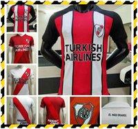 2021 Version du joueur Jersey de football River Plaque G.Martinez Quintero Pratto 20 21 Riverbed Shirt de football personnalisé Uniforme