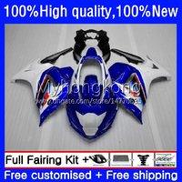 Moto-Verkleidungen für Suzuki Katana GSXF White Blue BLK 650 GSXF-650 GSX 650F 08-14 29NO.6 GSX650F 08 09 10 11 12 13 14 GSX-650F GSXF650 2009 2010 2011 2012 2013 2013 kodys