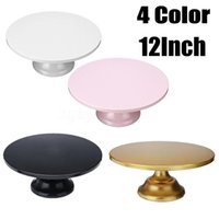 Other Bakeware 4 Color Grand Baker Cake Stand 12 Inch White Wedding Tools Fondant Decorating Supplies Dessert Table Pops