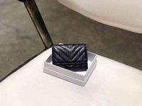 Hohe Qualität Design Brieftaschen Sly Clip Münze Doppel HASP Wallet Fold Karten Passhalter Frauen Schlüsselbeutel Geldbörse mit Kasten