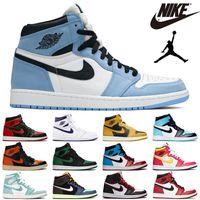 Air Jordan 1 Retro Basketball Schuhe Herren Damen University Blau Hyper Royal Dark Mocha Twist Outdoor Herren Trainer