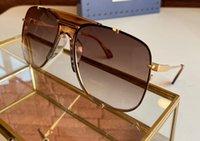 0739 Pilot Sunglasses Metal Gold Havana Gold Brown Sun Glasses for Men Women Sonnenbrille UV400 protection Eye wear Summer with box