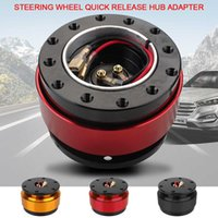 Universal Hub Adapter Boss Kit Anti-theft Steering Wheel Snap Off Durable Car Auto Quick Release 6 Hole Aluminum