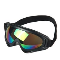 1 adet Kış Rüzgar Geçirmez Kayak Gözlük Gözlük Açık Spor CS Gözlük Kayak Gözlük UV400 Toz Geçirmez Moto Bisiklet Güneş Gözlüğü