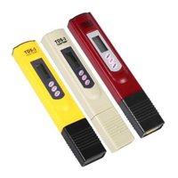 Medidores de pH 50 unids TDS-3 Portátil Digital LCD Calidad de agua Pruebas de PEN PUERTE FILTRO FILTRO TDS TESTER SN1846 GQUI