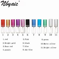 Lagerflaschen Gläser Nbyaic 5 stücke Probe Parfüm Flasche Abfüllung, 5ml10ml Transparent, tragbare High-End-Reise-Kosmetik, Wasserspray