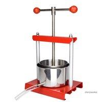 Juicers Manual Juice Pressing Machine Home Stainless Steel Juicer Self-brewing Grape Wine Press Manor Fruit Ferment Presser 1pc