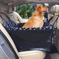 Coperchi del seggiolino auto per cani Hateli Front Row Impermeabile Pet Black Carrier Basket Travel Cat Safe Multifunzionale Addensare Addensori Pieghevole
