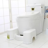 Toilet Seat Covers T84F Bathroom Aid Squatty Step Foot Stool For Potty Help Prevent Constipation