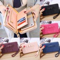 Card Holders Girl Women Lady PU Leather Long Wallet Clutch Zipper Up Holder Box Handbag Bag