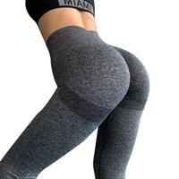 2021 mulheres ginásio yoga calças sem costura roupas de esportes stretchy cintura alta atlética exercício fitness leggings activewear calças