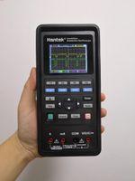 كود القراء أدوات المسح الضوئي Hantek 2D82 السيارات 4in1 المحمولة استذرية السيارات 80MHz الذبذبات الرقمية + dmm + awg