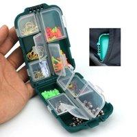 Angeln Accessoires Tackles Swivels / Jig Haken / Blei Gewicht Perlen Haken Glocken Snaps ishing Tackle Boxen Multifunktionale Kits