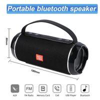 TG116C Outdoor Portable Speaker High Power Bluetooth Speakers Wireless Bar Sound Column Subwoofer Music Center BoomBox 3D Stereo Radio