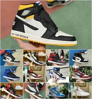 2021 Diseñador Travis Scotts X 1 High OG Mid Shoes TN Barato Negro Blanco Hombres Mujeres Toe Royal Banned Bred 1S No Para Reventa V2 Presto Shoes