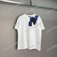 21ss Diseñadores Tee T Shirts Temporada de pastel ingenuo irregular irregular cielo estrellado para hombre bombero acuarela hombre paris moda manga corta lujos camisetas