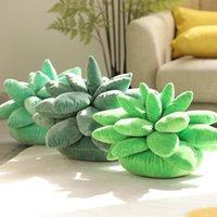 45cmsimulação suculentas Cactus travesseiro Childrens brinquedos de pelúcia decoração jardim verde amantes meninos bonitos meninos meninas meninas sala de estar quarto casa de banho casa acessórios