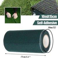 5 / 10m DIY CESPED 인공 잔디 야외 정원 조인트 테이프 방수 합성 잔디 카펫 셀프 접착 테이프 정원 Q0811