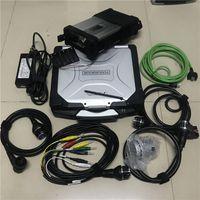 Super MB Star C5 SD Connect Diagnose Tool mit Laptop CF19 Toughbook Diagnostic PC HDD 320GB Bereit zu bedienen