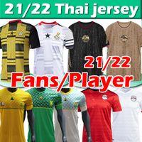 2021 2022 Egito Jerseys South National Football Team África 21/22 M.Salah # 10 Gana Tunísia Home Away Terceira Jersey Men Football Shirt Thai