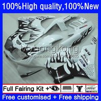 Bodys Kit For HONDA CBR 893RR 900RR 893 900 CC 89 90 91 92 93 Bodywork 36No.67 CBR900RR CBR893RR 1989 1990 1991 1992 1993 CBR900 CBR893 RR 89-93 OEM Fairing Black flames